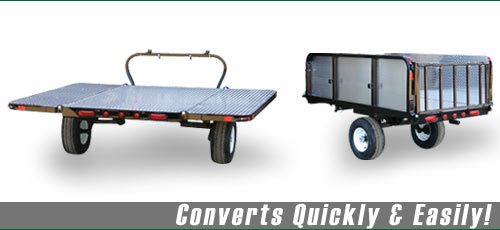 ATV Trailers - Dual Track  -  Off-Road & Convertible